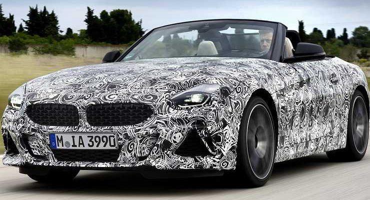 Баварцы тестируют «горячий» родстер BMW Z4 M40i