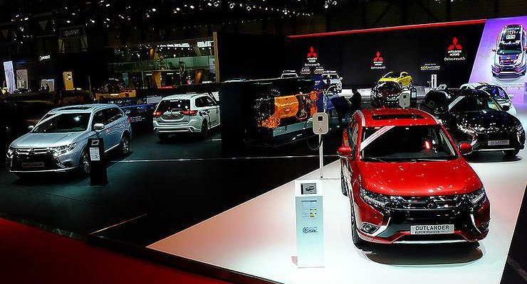Mitsubishi отказалась от участия в Московском автосалоне-2018