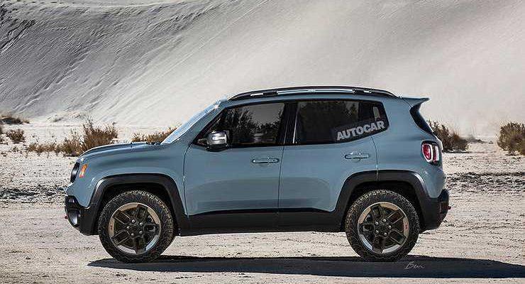 Названы сроки появления нового кроссовера Jeep