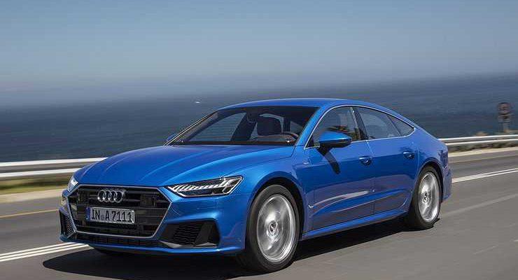 Новый Audi A7 Sportback приехал в Россию