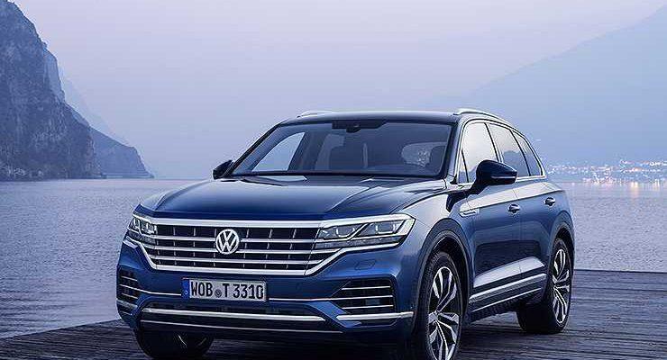 В России начались продажи нового Volkswagen Touareg
