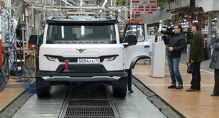 «Красивая машинка»: потребители оценили новый дизайн УАЗ «Буханки»