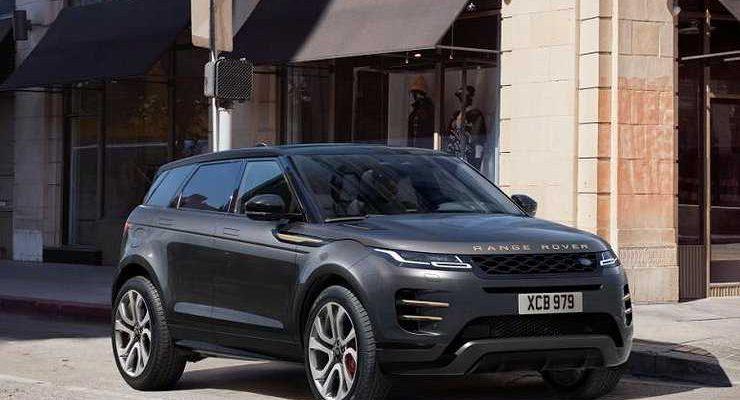 Кроссовер Range Rover Evoque получил в России две новые спецверсии