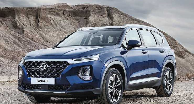 Объявлены российские цены на новый Hyundai Santa Fe
