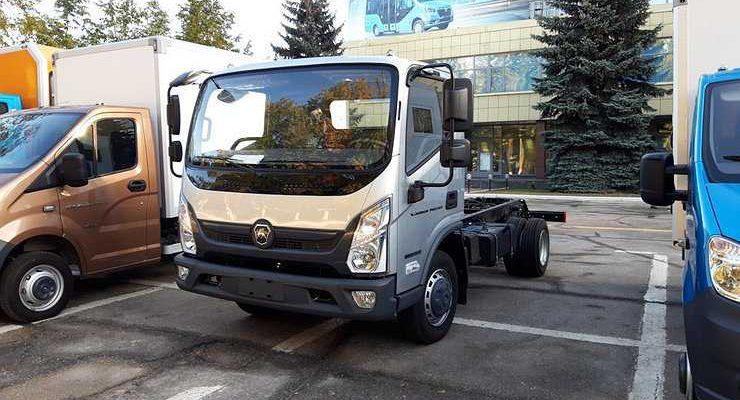 Опубликованы свежие фотографии нового грузовика «Валдай Next»